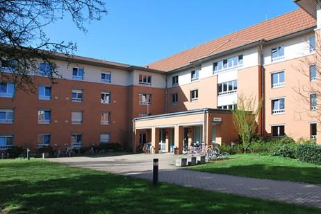Neubau Internatsgebäude mit 144 Appartements Berufsförderungswerk Michaelshoven, Köln-Rodenkirchen