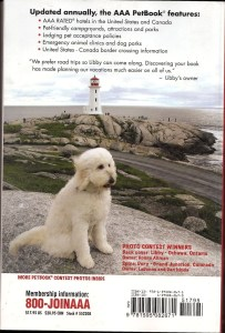 AAA traveling with pets back cover