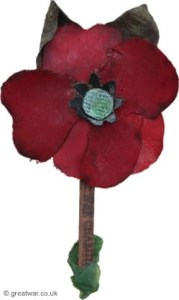It was American teacher Moina Michael who came up with an idea to wear red poppies on Memorial Day.