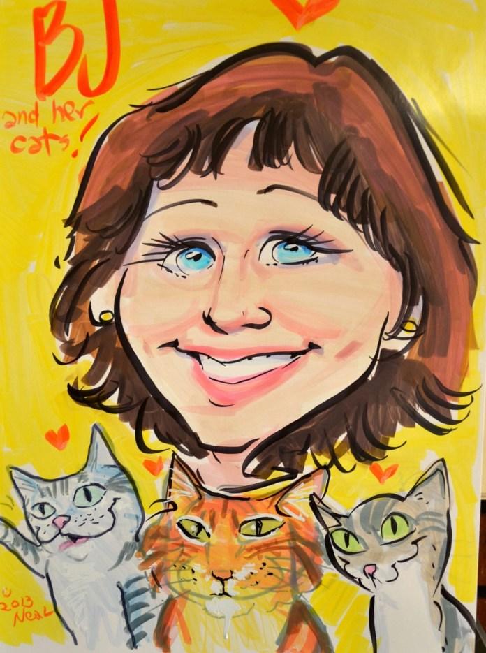 BJ Bangs is an award-winning cat blogger/journalist/photographer