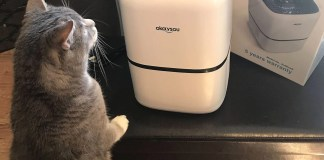 Okaysou's Air Filter is great for cat owners