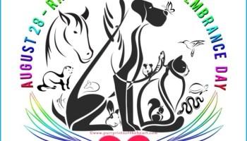 logo of Rainbow Bridge Remembrance Day