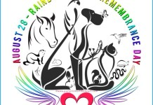 logo of Rainbow Bridge Remembrance Day