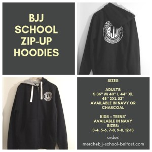 BJJ School Belfast - Hoodies