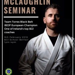 Martin McLaughlin Seminar - Team Torres - BJJ School Belfast