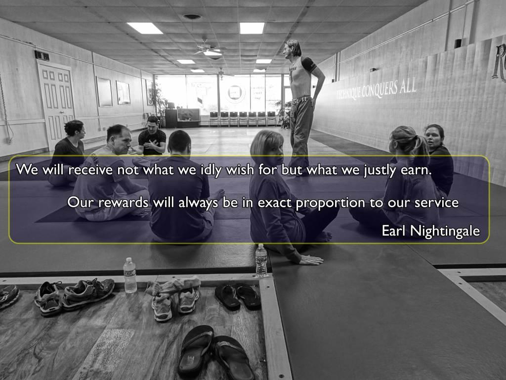 Justly Earned Earl Nightingale