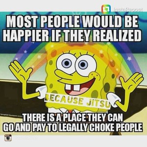 Spongebob - Most people would be happier with Jiu Jitsu