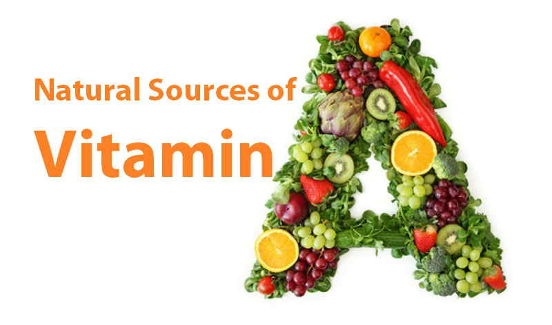 Foods With Natural Vitamin A