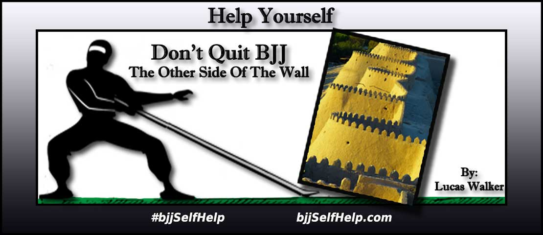 "Don't Quit BJJ – ""The Other Side Of The Wall"""