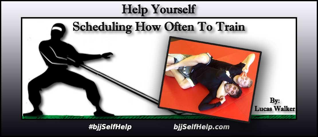 How Many Days Per Week Should I Train Jiu Jitsu?