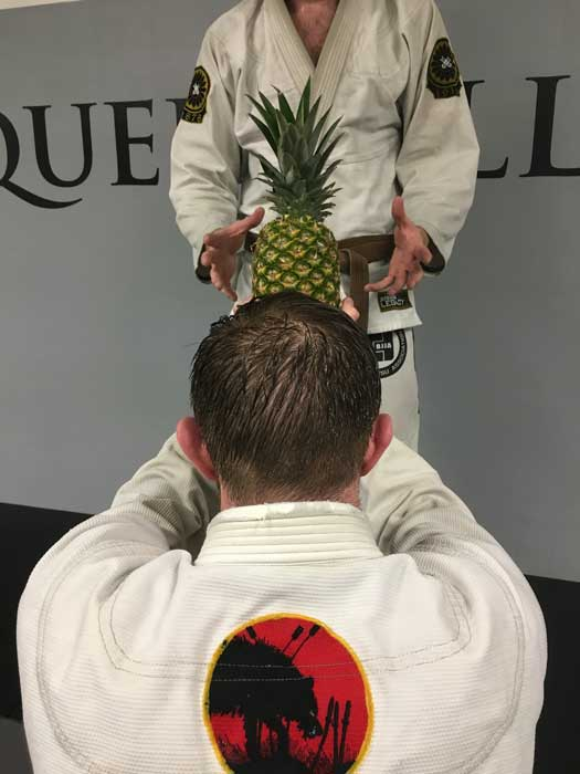 Bring A Pineapple To Your Jiu Jitsu Teacher