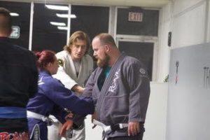 Lucas Walker Teaching Jiu Jitsu (Fixing White Belt Mistakes)