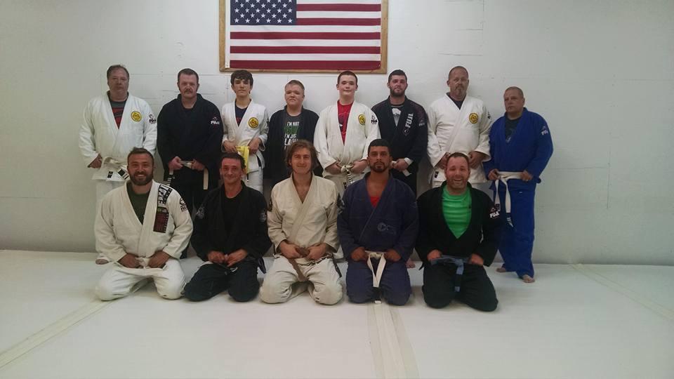 Lucas Walker Teaching White Belts