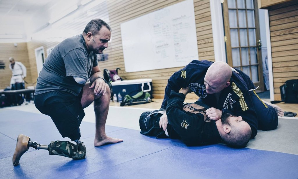 We Defy Veterans Using BJJ