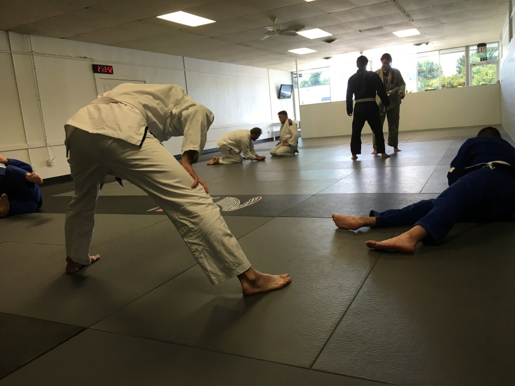 Warm Up And Stretch Before BJJ