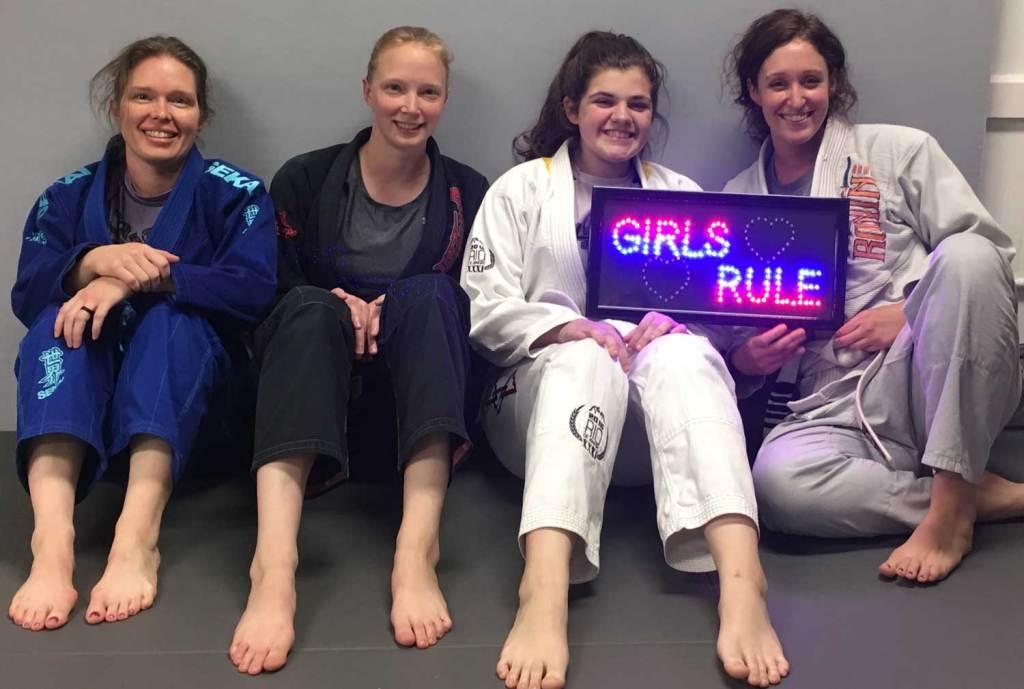 Women's BJJ - Girls Rule