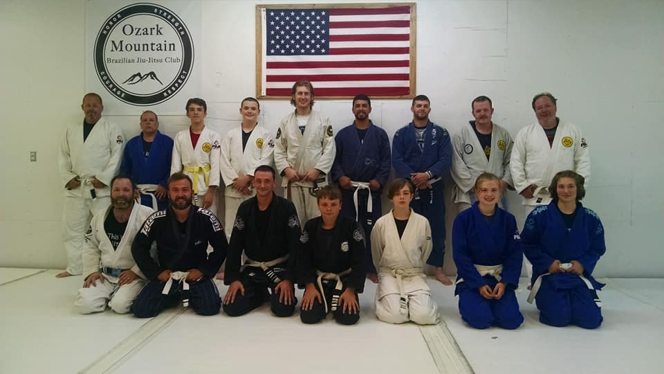 Lucas Teaching At Marshfield BJJ