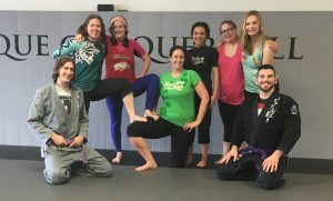 Lucas Walker Teaches Women's Only Seminar At Springfield BJJ