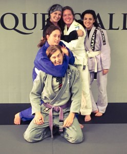 Womens BJJ - Choke Hold
