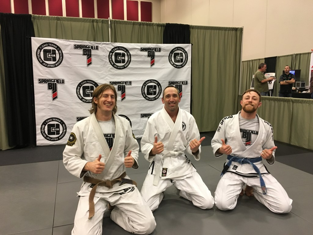 Jiu Jitsu Expo Lucas 2 Thumbs Up