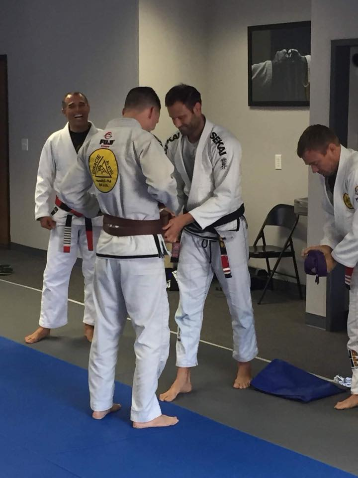 Matt Williams Gets His Brown Belt