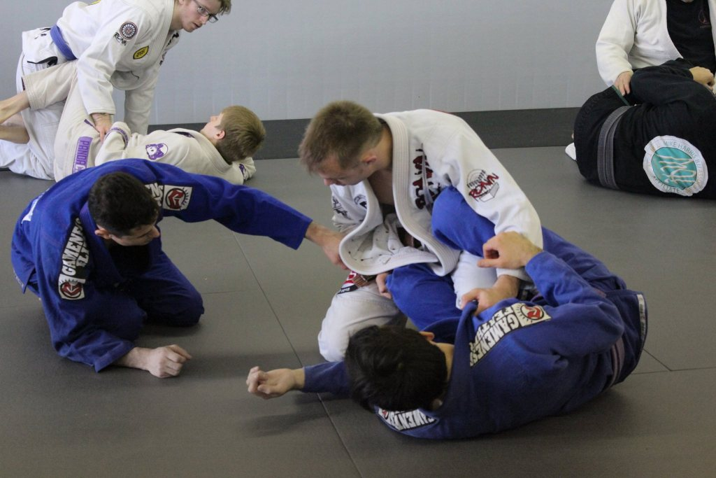 Caio Terra Making Adjustments To Half Guard Position Before Submission