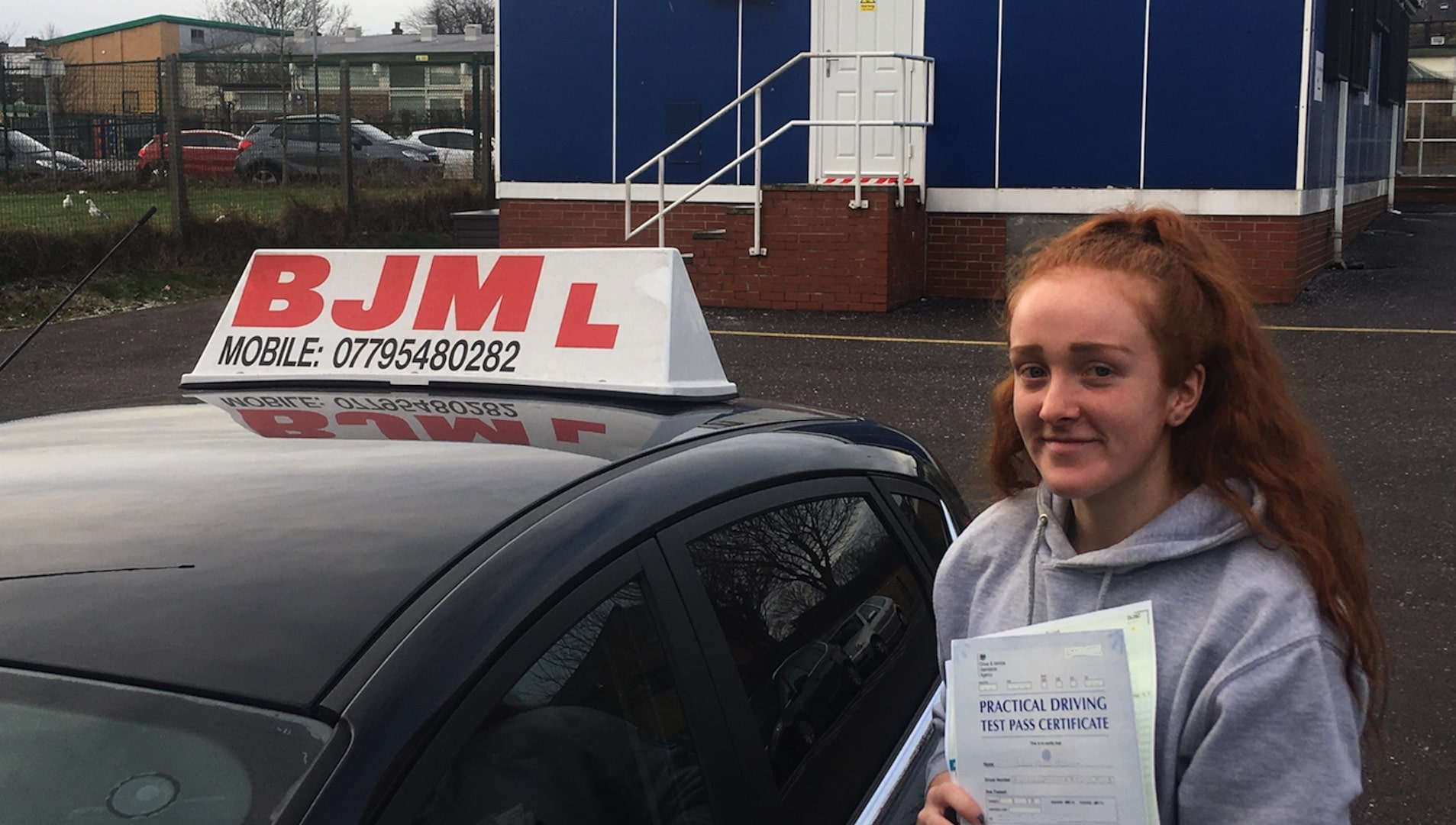 Congratulations Megan, Congratulations Megan, BJM School of Motoring, BJM School of Motoring