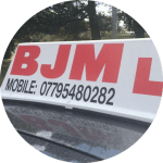 BJM School of Motoring, Congratulations Mark, BJM School of Motoring