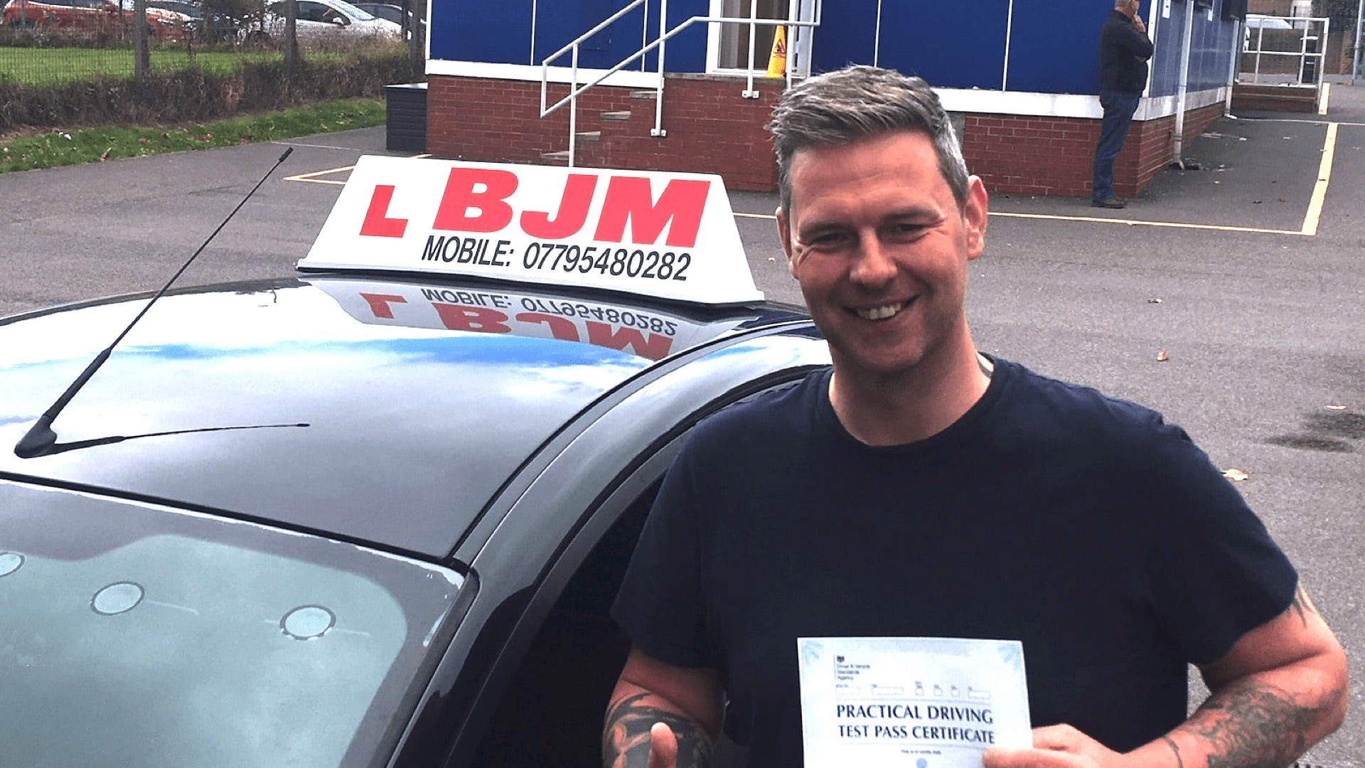 Congratulations, Congratulations Lee, BJM School of Motoring