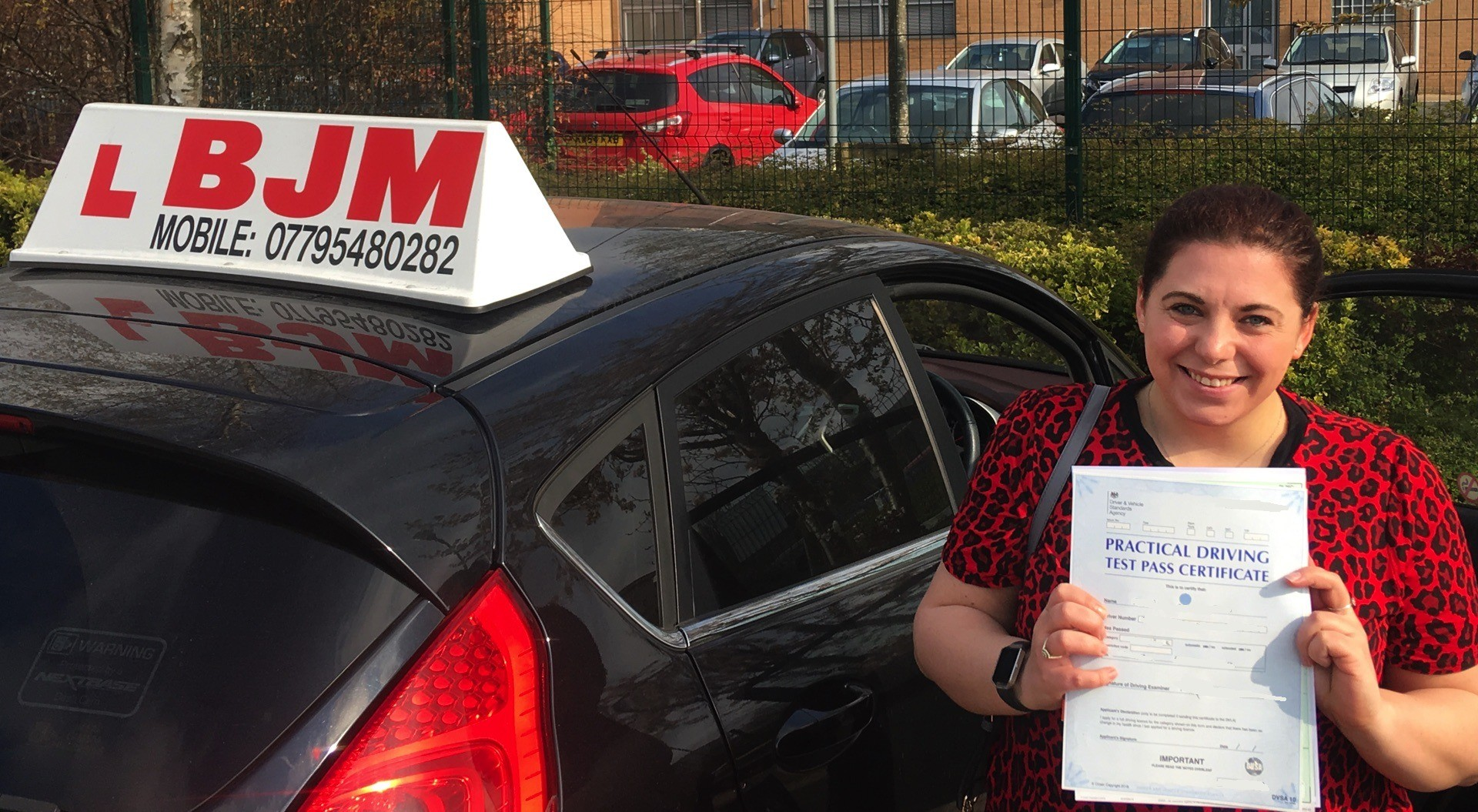 driving test, Congratulations Lauren, BJM School of Motoring, BJM School of Motoring