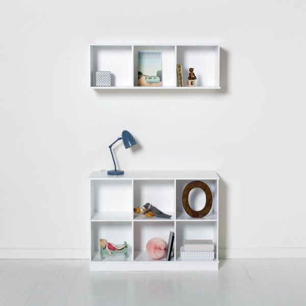 etagere horizontale 3x2 wood