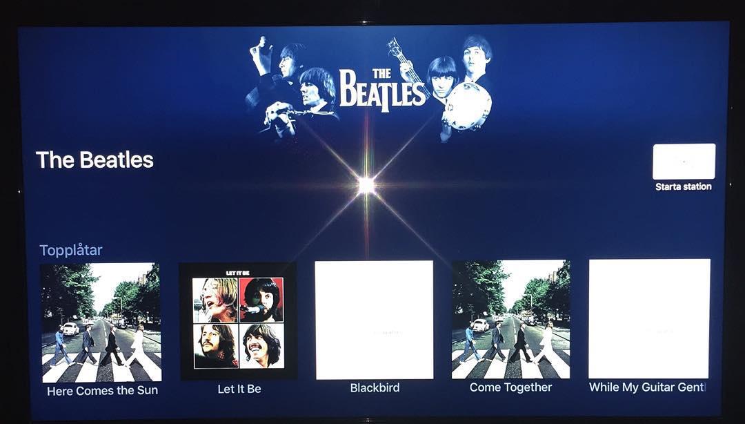 Gött att The Beatles äntligen finns på streamingtjänster så som Apple music och Spotify #thebeatles #applemusic #spotify