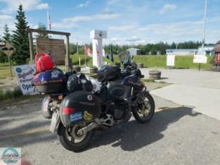 Am Ende des Alaska Highway...