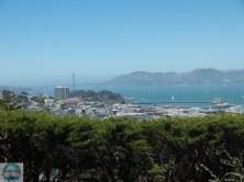 Golden Gate vom Coit Tower aus gesehen