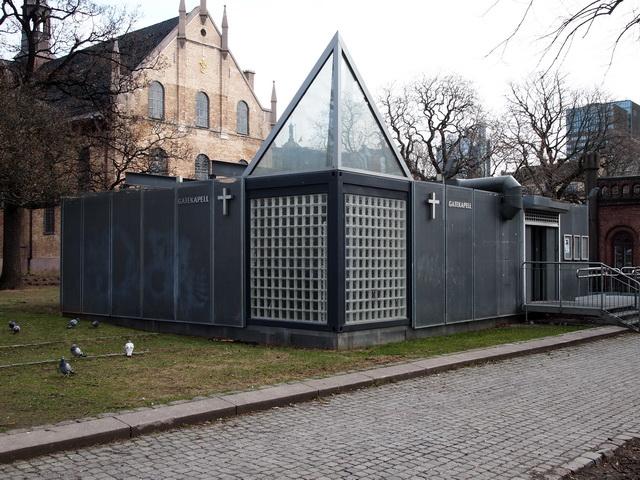 Gatekapellet ble brukt under oppussingen av Oslo domkirke, men skal nå flyttes. (Foto: Sven Brun)