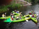 Motorsenteret i Hvervenbukta leier ut kanoer og kajakker. (foto: Oslo Sør-satsingen)