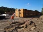 Nå utvider Jernbaneverket kontorriggene på Vefald. (foto: Sven Brun)