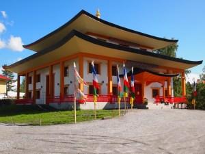 Tempelet ble innviet i 2015 (foto: Sven Brun)