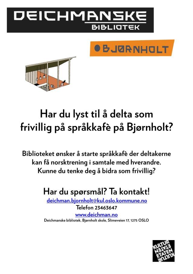 Frivillig Plakat - flyer