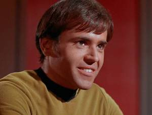 """Shouldn't it be """"his phaser?"""""""