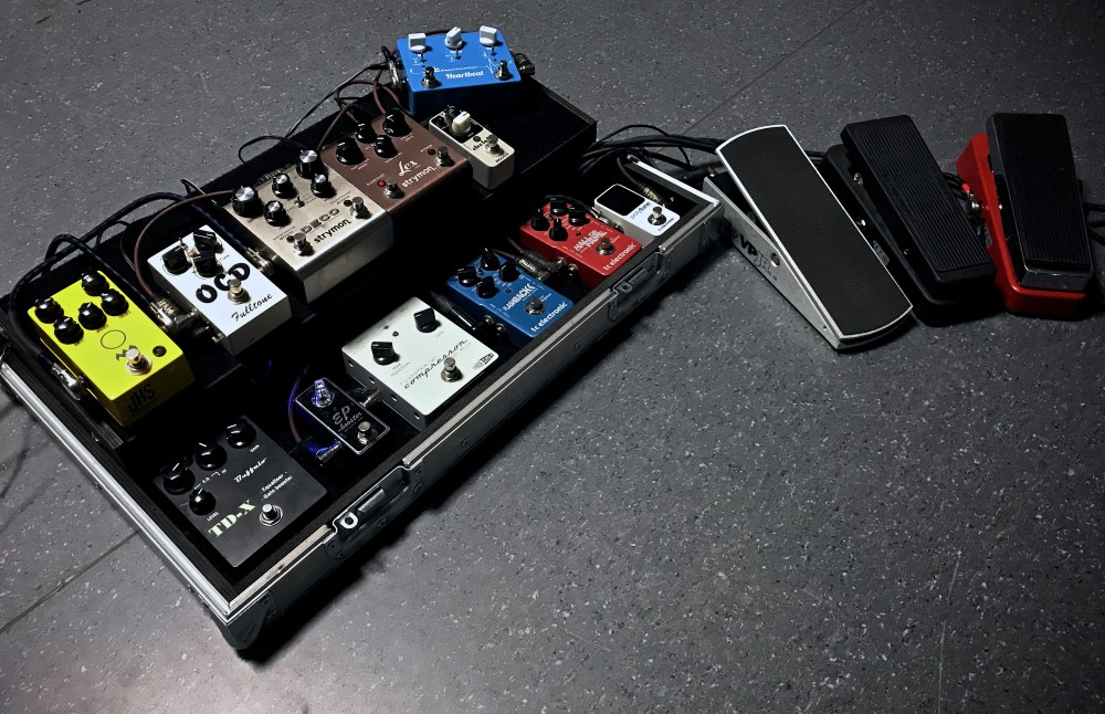 medium resolution of bjorn riis pedalboard 2017