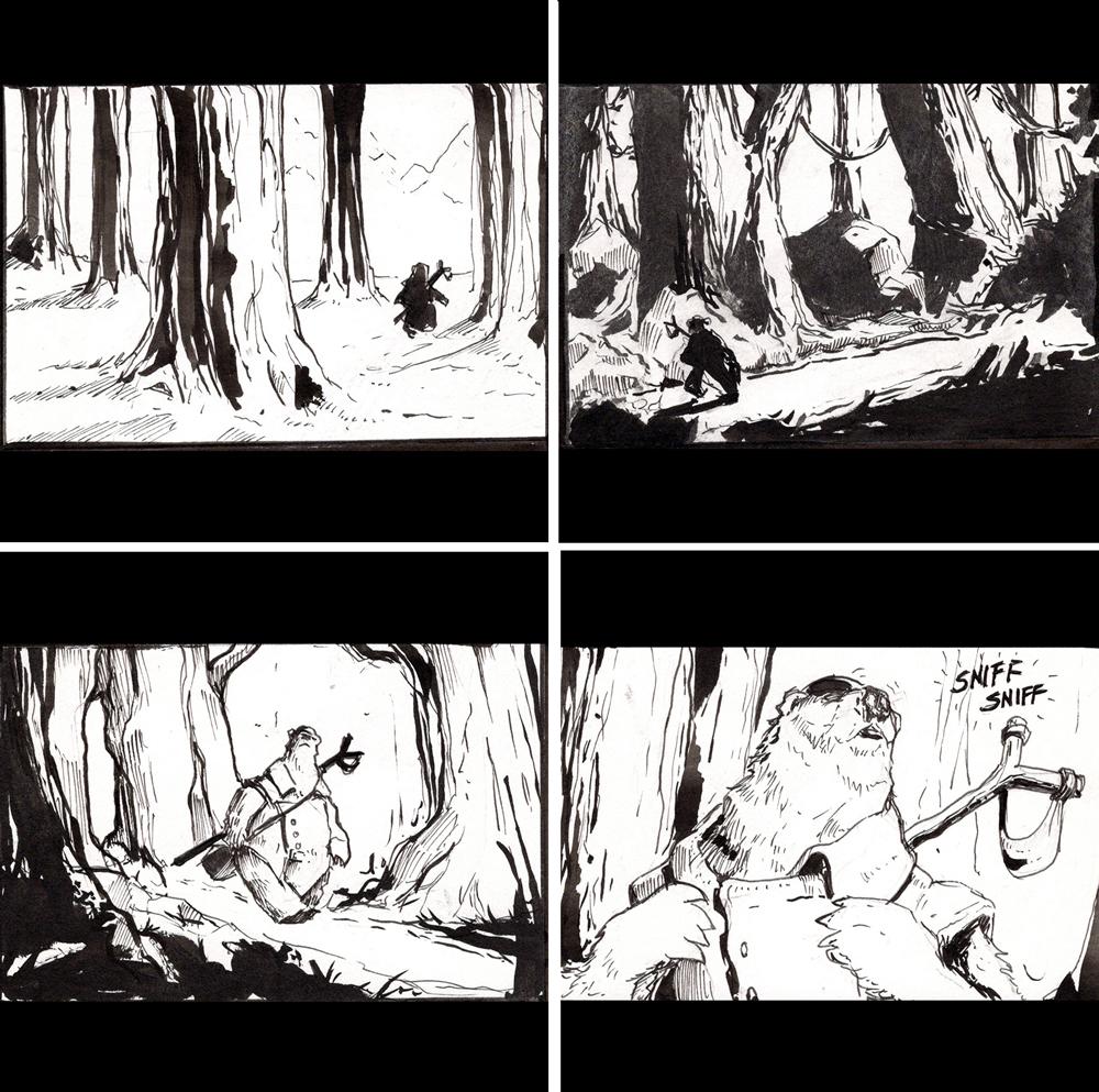 Bjornsaga – Page 1
