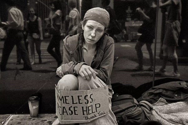 John Conn Signs Of Homeless British Journal