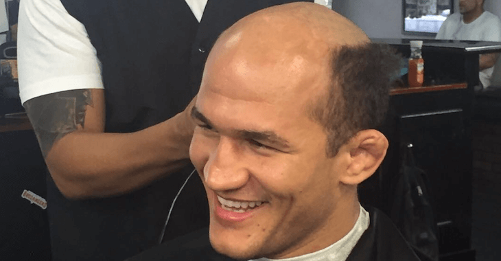 Junior Dos Santos New Hairstyle