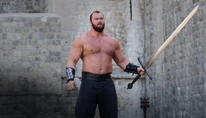 Hafbor Thor Bjornsson, Game of thrones, boxing, the Mountain