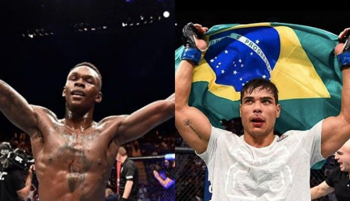 Israel Adesanya, Paulo Costa, Stephen Thompson
