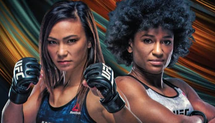 UFC Vegas 10, Michelle Waterson, Angela Hill