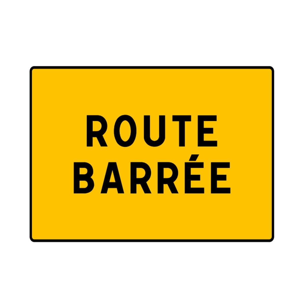 Panneau Seul KC1 21P Route Barre BJS Matriel TP