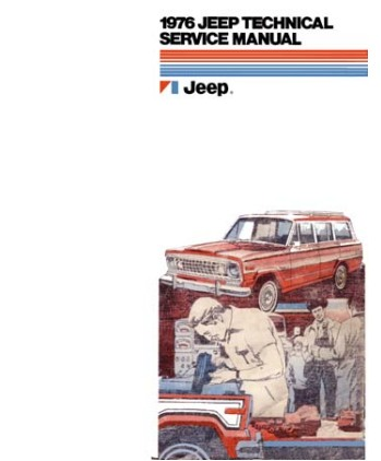 1976 Jeep Factory Service Manual