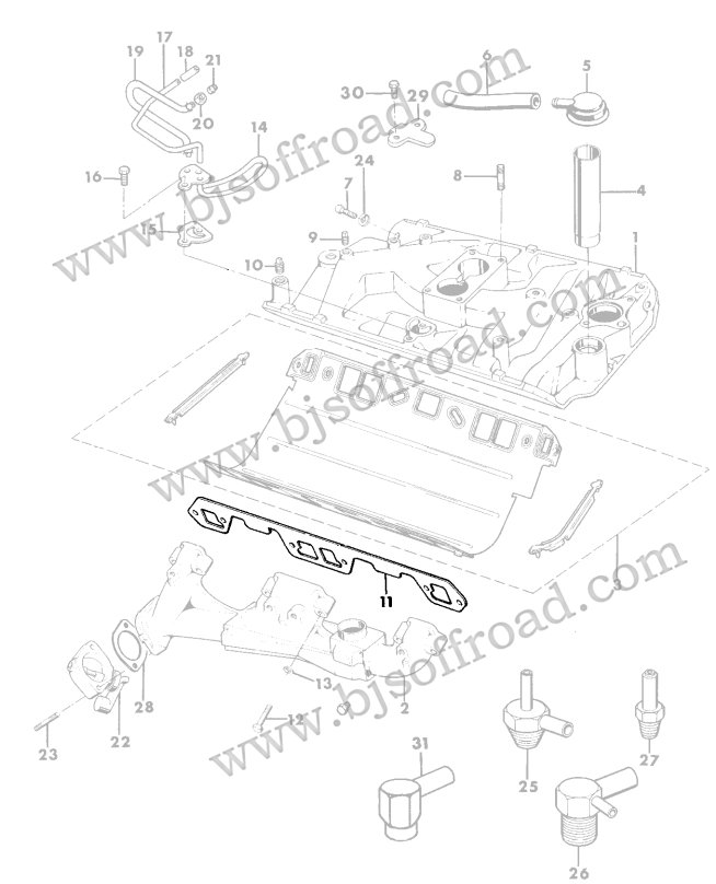 1974 jeep cj5 amc 360 alternator wiring diagram